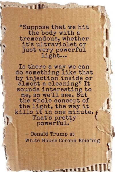 Trump COVID Quote
