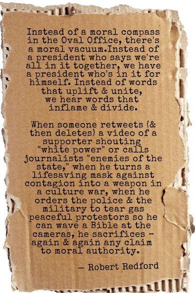 Robert Redford Quote