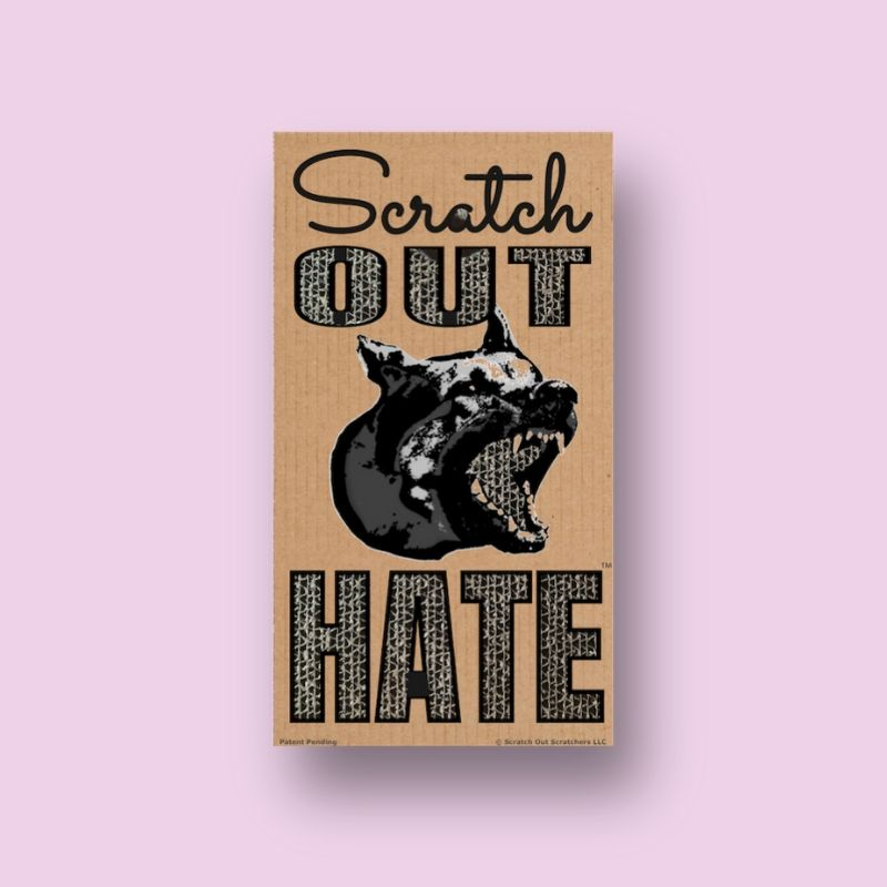 Scratch Out Hate Cover Pink