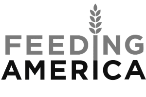 Feeding America Logo bw