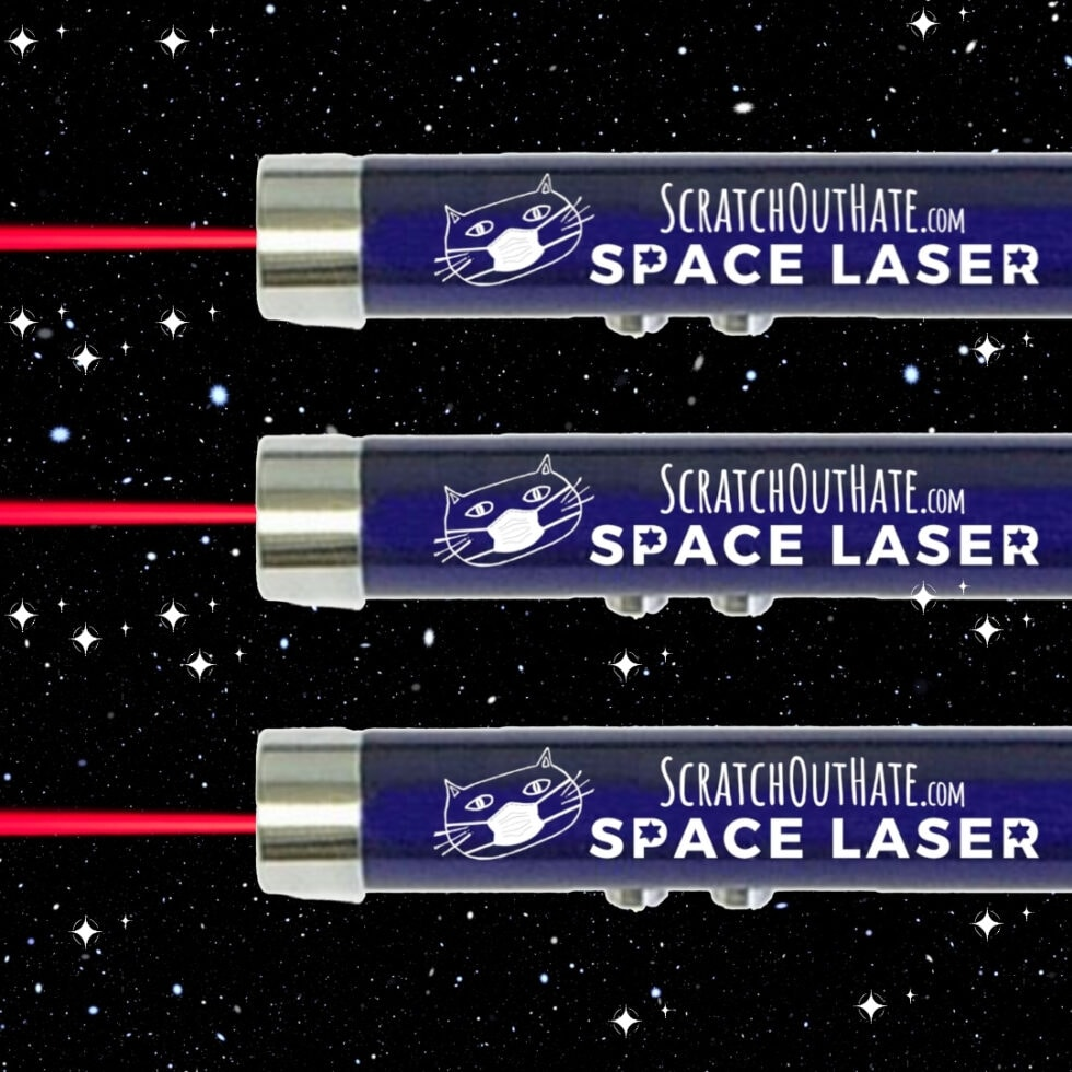 3 Space Lasers