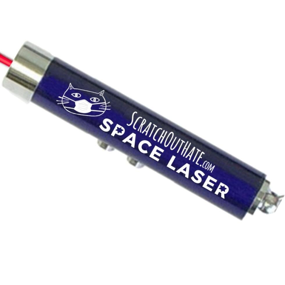 Cat Space Laser